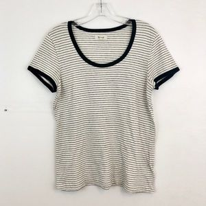 Madewell Striped Recycled Cotton Tee (C4)